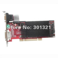Wholesale 100 NEW ATI Radeon HD5450 GB PCI interface Not PCI Express Low Profile VGA Card HDMI VGA DVI dropship with tracking number