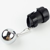 Wholesale Male Penis Extender Adjustable Penis Sleeve OZ CHROME BALL WEIGHTS Cock Ring Ball Stretcher Stretch with D ring