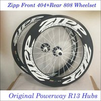 zipp - Factory Price Zipp Front Rear Zipp Carbon Wheels Clincher Tubular Wheels Set Full Carbon Bicycle Parts k Glossy Matt R13 Hubs