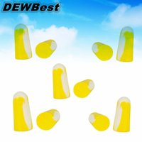 Wholesale 10pcs pairs Ear Plugs Reusable Hearing Protection Noise Reduction Earplugs Protective Earmuffs Ear Protector