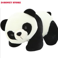 big dolls - 1pcs cm Cute Climbing Bear Toys Doll Big Panda Plush Toys Send friend Children cartoon animals Toy Gift plush toys