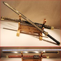 Wholesale Longquan sword sword by hand Qin jian town curtilage the sword of cold special edge