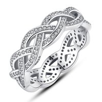 Wholesale Pure Silver sterling Compatible Ring Love ring vintage tibetan silver Original Compatible with Pandora Jewelry