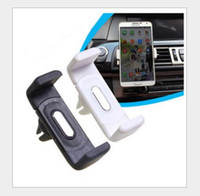 Wholesale Universal In Car Use Adjustable Air Outlet Holder Car Holder Cell Phone Mounts and Holders