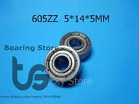Wholesale 605ZZ ABEC bearings metal Sealed Miniature Mini Bearing chrome steel bearing Z ZZ mm