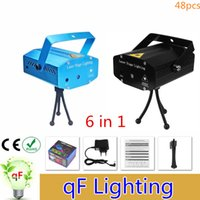 live in usa - Mini in DJ Controller Par LED Projector Laser Stage Lighting Effect Disco DJ Xmas Ball Blue Laser Party Lights Luces Fiesta