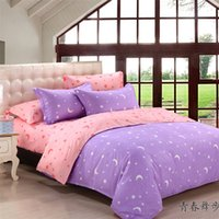 bedspreads and comforters - stars and moon pattern bed set bedding sets duvet cover Bedding sheet bedspread pillowcase preferential