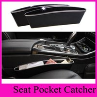 Wholesale CATCH CADDY Car Seat Pocket Catcher Organizer Car Seat PP Stowing Tidying Pocket Bags Home Car Storage