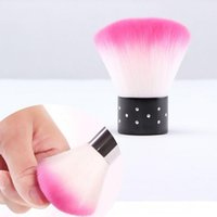 Wholesale New Colorful Nail tools Brush For Acrylic UV Gel Nail Art Dust Cleaner nail dust brushes