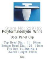automotive door panels - 100PCS Door Panel Clip For Kia Fastener For Cars Auto Plastic Snap Automotive Clips Plastic Retainer Trim Clips M49599
