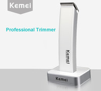 Wholesale Kemei rechargeable electric hair clipper for adult and children professional electric hair trimmer for salon and household