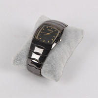 Wholesale Gray Ice Velvet Bangle Bracelet Watch Pillow Display Stand Jewelry Holder Rack