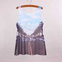 apparel mixes fashion - Fashion letters print women top tees summer dress new arrival female tanks new fabric clothing customized apparel mixed order
