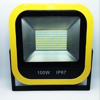 Wholesale Outdoor Lighting SMD w w w w led Floodlight Waterproof IP65 Floodlight Garden Lawn Lamp AC V Free by DHL