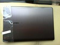 Wholesale Brand for SAMSUNG NP530U3C U3B U3C back cover A case Rear case BA75 A laptop LCD back cover Silver Grade A Brush