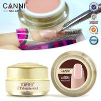 Wholesale 12pcs CANNI Soak off UV Builder Gel Camouflage UV Gel Acrylic for Nail Art Tips Extension Nail Salon ml Colors