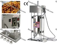 Wholesale 15L Commercial Use110v v Electric Automatic Spanish Churro Maker Machine Baker Filler Extruder with Nozzles