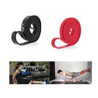 Wholesale 208cm Set Natural Latex Pull Up Physio Resistance Bands Fitness CrossFit Loop Bodybulding Yoga Exercise Fitness Equipment s1064