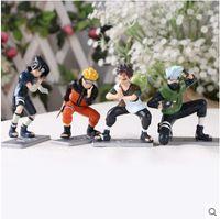 Wholesale Mini Action Figure Naruto Kakashi Nara Shikamaru Gaara Sasuke Namikaze Minato PVC Figure Toys Dolls set of