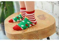 Wholesale 2016 New Baby Socks Floor Anti Slip Toddler Girls Socks Infant Boys Girls Christmas Socks Cartoon Kids Cotton Terry Socks