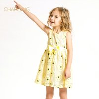 best sundress - Brand Sundress kids fashion Designer children s clothing Quality printed round neck sleeveless dress Best suppliers from china