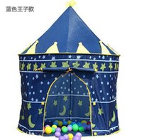 Wholesale Portable Pink Children Kids Play Tents Outdoor Garden Folding Toy Tent Pop Up Kids Girl Princess Castle Outdoor House Kids Tent
