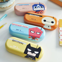 Wholesale Kawaii cartoon sunglasses glasses case bags for kids use in school storage box tt