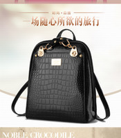 Wholesale Backpack Style Brand bags Skull crystal backpack bag Women leather bags Girls School Bags Women Handbag Shoulder Bags