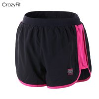 Wholesale New professional sports ports running fitness women s outdoor quick drying shorts gym yoga Bodybuilding women short