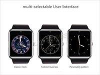 beauty health card - 2016 Newest Wear Bluetooth Smart Health Phone Watch With Sim Card Smartwatch For Apple Samsung Gt08 Wearable Device Phone Beauty
