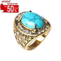 Wholesale 2016 HOT Sterling Silver Gemstone Ring Jewerly Rings Butterfly Ring For Women Alloy Gold Silver Opal Amber Bulk Pandora Couple Turquoise