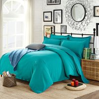 Wholesale Green Lake High end Aloe Cotton Reactive Printing Solid Fashion Bedding Set PC FULL Size