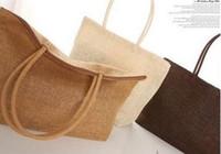 Wholesale Korean Fashion Simple All match shoulder bag Straw Weave Beach Bag vacation woman Bag Weaving