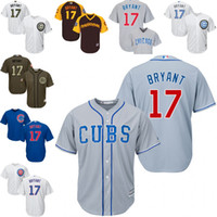 jerseys for kids - 2016 World Series Champions patch Kids Grey blue white Kris Bryant baseball Jersey Youth Chicago Cubs Cool Base for sale stitched