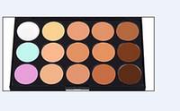Wholesale Hot New Colors Beauty Pro Face Cream Makeup Concealer Contour Palette Kits Face Cream Makeup Concealer Palette Make up Set Tools