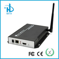 Wholesale DHL Shipping HDMI Over IP Stream MPEG4 H Encoder Wifi For Live Streaming IPTV Broadcasting