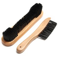 Wholesale 2PCS Snooker and Pool Table BRUSH SET quot Brush and Rail Brush Plastic Wood Pool table cleanning tool billiard accessories