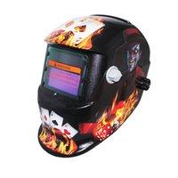 arc machine tools - New Wedling tools Gamblers Solar auto darkening shading TIG MIG MMA ARC welding mask helmet welder cap for welding machine