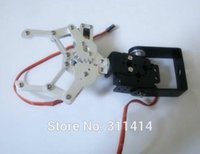 assembly robot - 1set Robot DOF Aluminium Clamp Claw Gripper Mount Kit No servo No Assembly Fit For Arduino In Stock Promotion