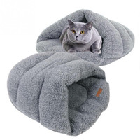 Wholesale 1 x Washable Pet House Dog Cat Bad Supplies Bed Warm Cushion Sleeping Bag Cover Nest For Pet Cat Dog