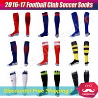 adult soccer socks - Adult Soccer Socks Top Quality Football soccer club Professional Clubs Thick Antiskid Socks Soccer Knee High Football Long Stocking