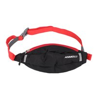 Wholesale New ANMEILU Portable Slanting Outdoor Sports Waist Bag Sports Waist Pack Mountaineering Hiking Bag Travelling Bag