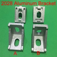 Wholesale 1pce Industrial Aluminum Profile Accessories corner fitting angle aluminum L type corner bracket fastener match use aluminum profile