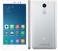 Wholesale 100 Original Xiaomi Redmi note Snapdragon650 Fingerprint ID G RAM voll Metall FDD LTE G MP