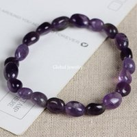 amethyst uruguay - Natural Amethyst Bracelet Uruguay Amethyst jewelry on behalf of a woman running wild new jewelry products