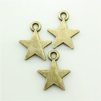 antique bronz jewelry - ashion Jewelry Charms Charms Five pointed star mm No GT04016 Tibetan Bronze DIY Retro Jewelry Bracelet Necklace Antique bronz