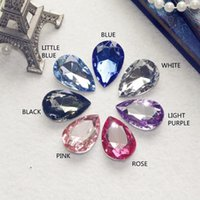 acryl stone - High Qulity Drops of water Shape Acryl Stone SIZE CHOOSE NO HOLE colors can choose color