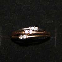 anniversary counter - Counter genuine thin ring JZ00003