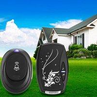 Wholesale New Waterproof Smart Home Wireless Doorbell Forecum6 m Range Door Bell Chimes Songs for Home Office Free DHL