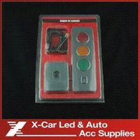 CE battery backups dc - No battery Auto Electromagnetic parking sensor Car LED Reverse Parking Radar Sensors Auto Reverse Backup Sensors Radar